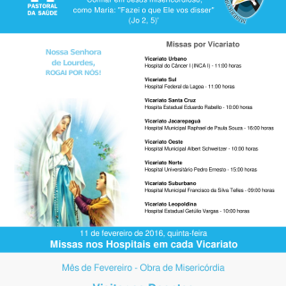 Lista de Missas por Vicariato